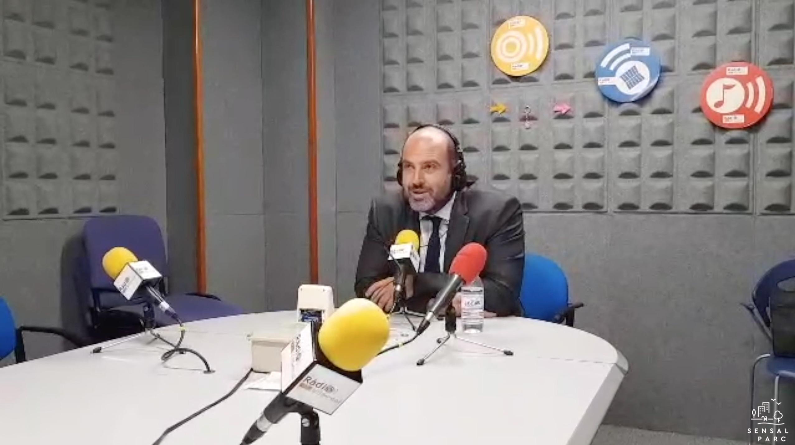 Entrevista a Juan Saussol Project Manager Sensal Parc en Radio Vila-real