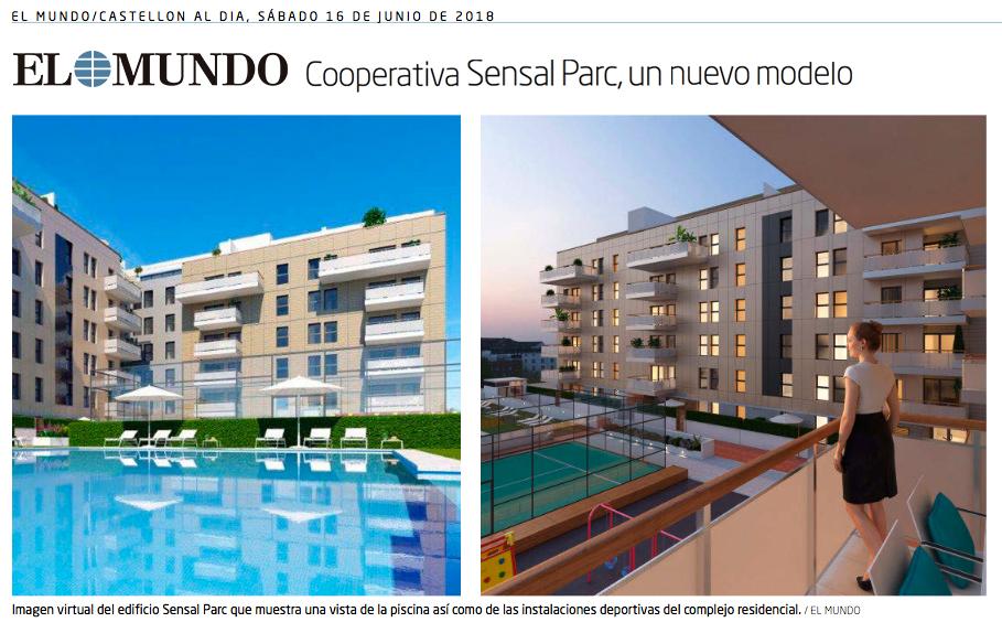 """El Mundo """"Cooperativa Sensal Parc, un nuevo modelo"""""""