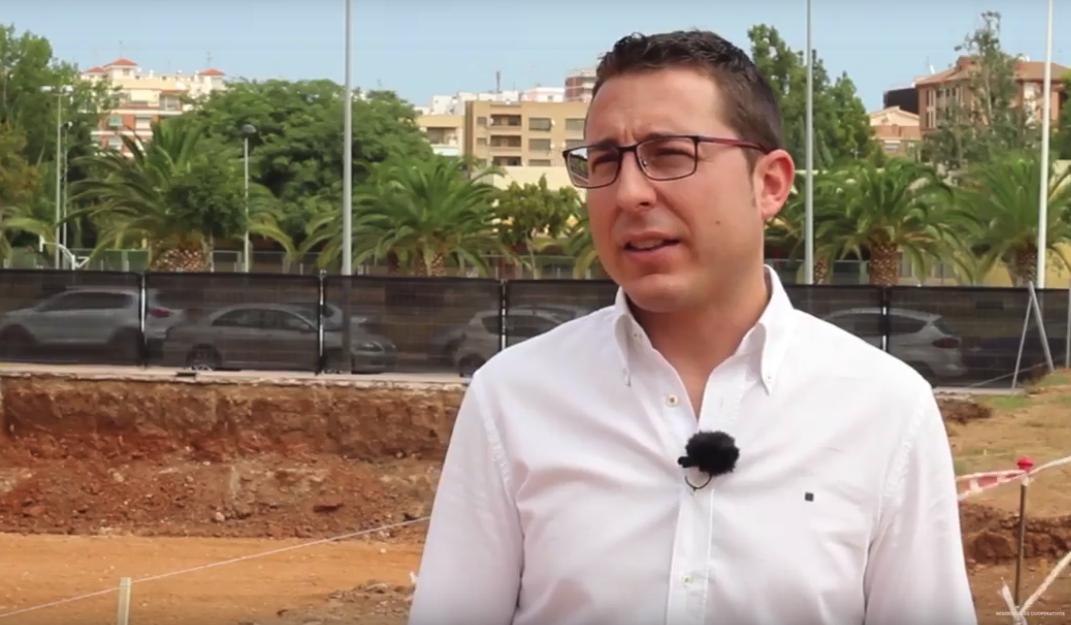 Ibán López, arquitecto del Residencial cooperativo de Sensal Parc I